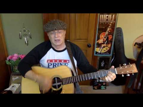 2143 -  Carmelita -  Warren Zevon vocal & acoustic guitar cover & chords