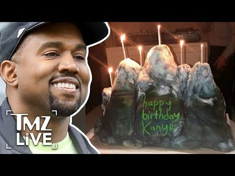 Kanye West's Star-Studded Birthday | TMZ Live