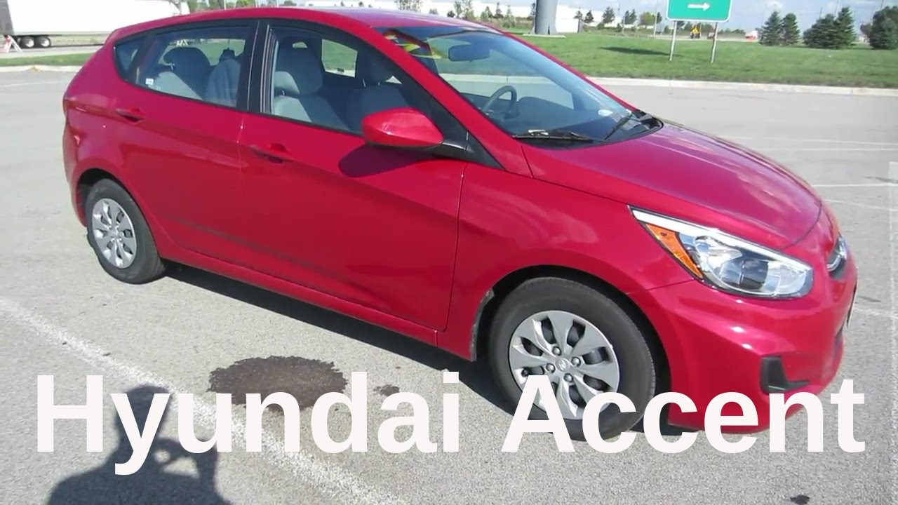 2016 Hyundai Accent 5dr Hatchback Full Review And Test Drive