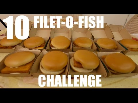10 FILET-O-FISH CHALLENGE (3900 CALORIES)