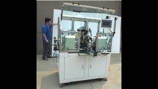 Slotted type commutator aspiradores martelos armature winding machine WIND ST TD2B Wind Automation