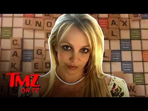Britney Spears Sparks Search For Hidden Meaning With Instagram Post of Scrabble Board | TMZ TV