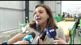 Intendencia de Montevideo inauguró la tercer planta de reciclaje de residuos