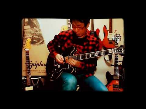 Epiphone Sheratonを弾いてみた by 風雅あきら