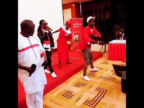 Depuis Dakar le Zouglou fait danser les Sénégalais avec le Commando Systématique Keimpoké...