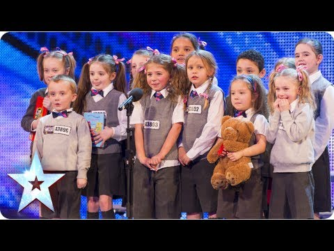 Видео: PreSkool the adorable dance troupe hit the stage  Week 5 Auditions  Britains Got Talent 2013