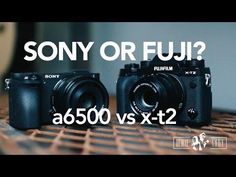 Sony or Fuji? a6500 vs x-t2