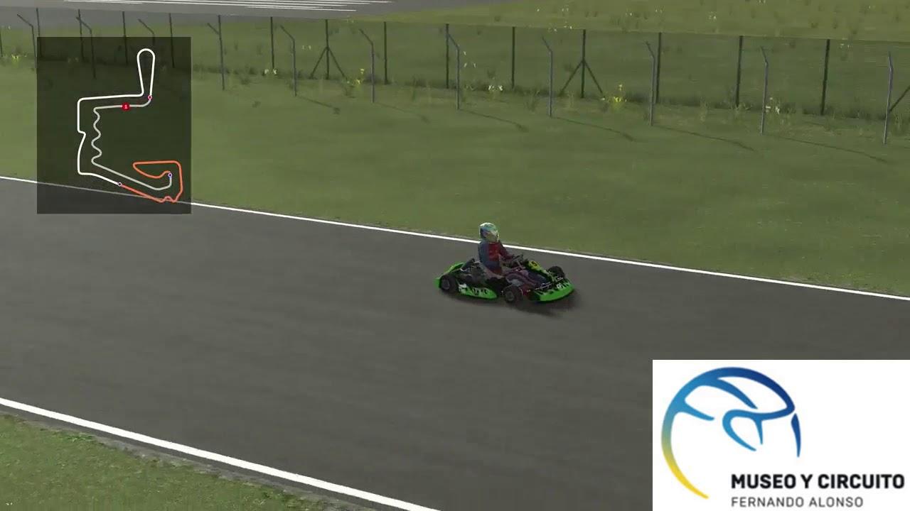 Circuito Fernando Alonso : Rfactor. vuelta kart circuito fernando alonso youtube