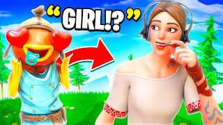 I Girl Voice Trolled A 9 Year Old! (he simped)