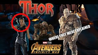 What Happened to Valkyrie and Korg Explained (SPOILERS for Infinity War)