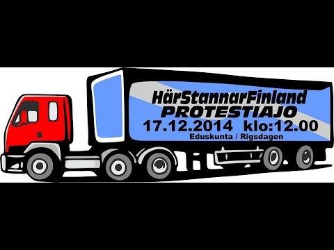 Här stannar Finland Protestiajo Helsinki (Official video)