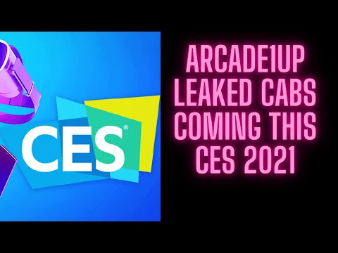 Arcade1up Cabs Leaks for CES 2021 from Ur Average Gamer