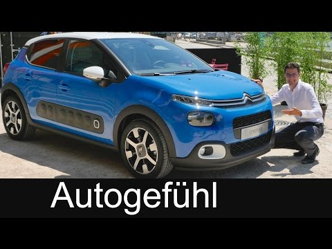 Citroen C3 World Premiere all-new neu static reveal REVIEW 2017/2016