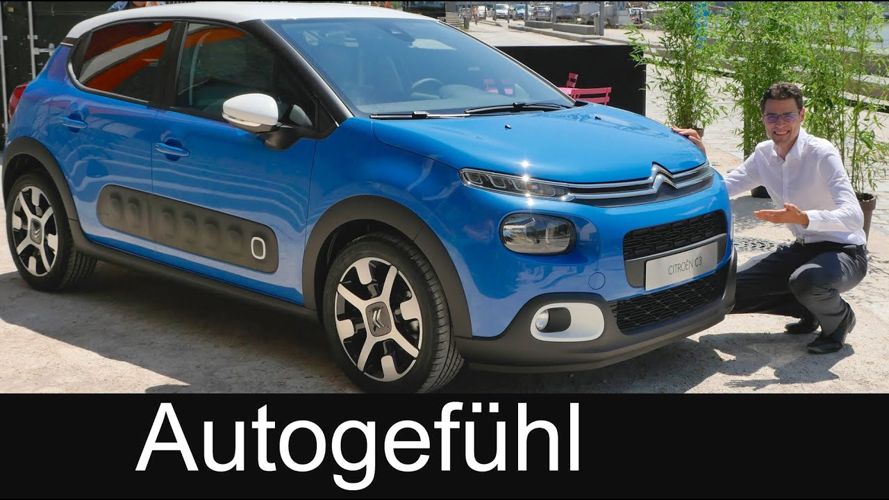 citroen c3 world premiere all new neu static reveal review 2017 2016 youtube. Black Bedroom Furniture Sets. Home Design Ideas
