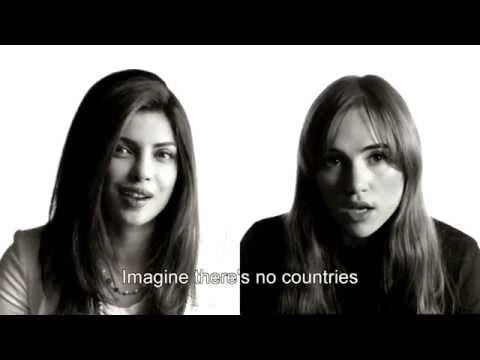Imagine (UNICEF karaoke version)