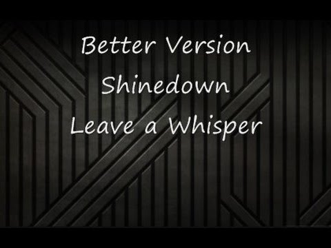 Better Version-Shinedown-Lyrics-HD
