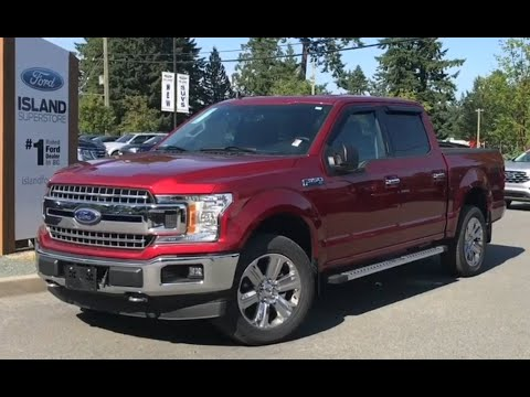 2019 Ford F-150 XLT 301A 3.5L SuperCrew Review| Island Ford