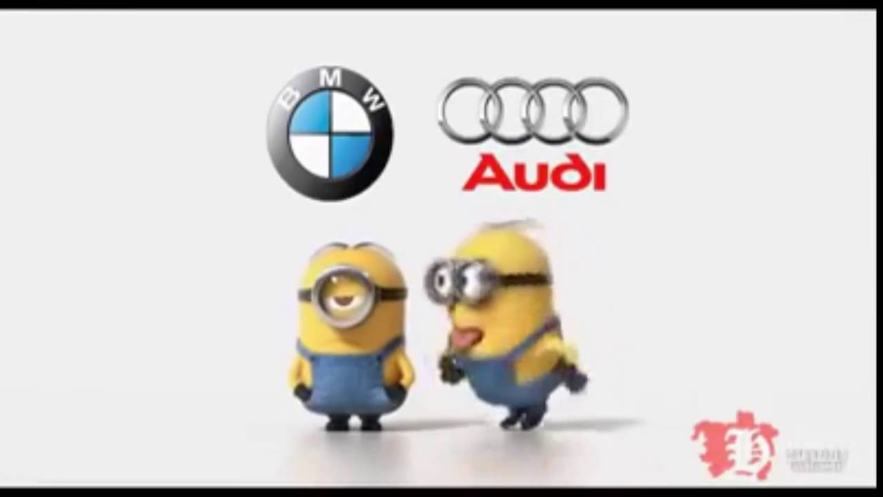 Audi Vs Bmw Funny Minions Youtube