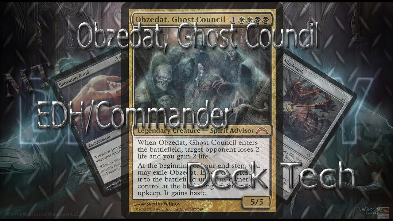 Mtg Obzedat Ghost Council Filth Edh Commander Budget Dech Tech 146 Youtube Currently the card is not. mtg obzedat ghost council filth edh commander budget dech tech 146