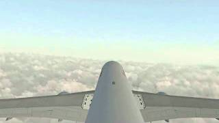 From Madrid to Vienna in 4 minutes // 767 LevelD // Austrian Airlines // FS2004