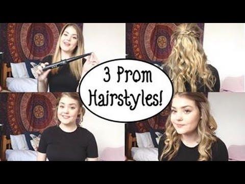 3 Prom Hairstyles || Orla-Katy♡