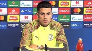 Joao Cancelo Full Pre-Match Press Conference - Man City v Atalanta - Champions League