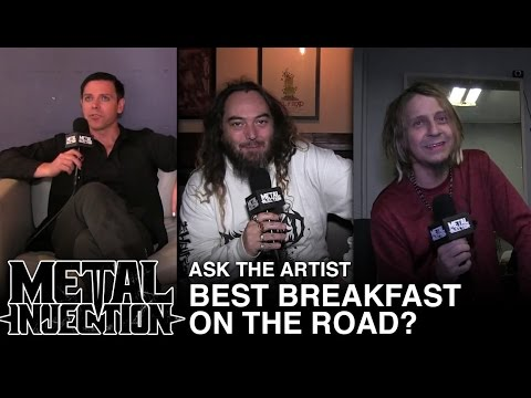 Ask The Artist: Best Breakfast On The Road? | Metal Injection