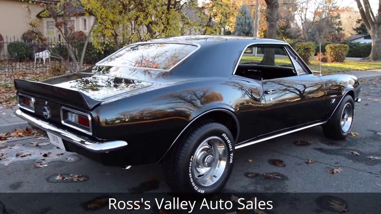 1967 chevrolet camaro ss ross 39 s valley auto sales boise idaho youtube. Black Bedroom Furniture Sets. Home Design Ideas