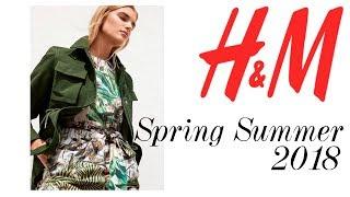 H&M Colección Primavera Verano 2018   Spring Summer Collection