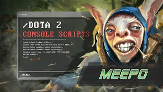 Dota 2 Scripts: Meepo / Скрипты на Мипо