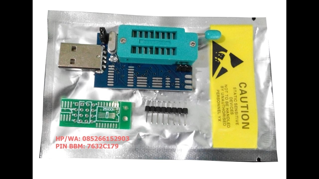 Cara Install USB Programmer CH341A