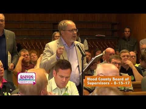 Wood County Board of Supervisors 08-15-17