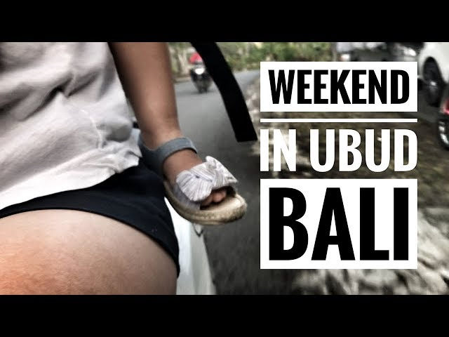 Weekend Getaway: Ubud, Indonesia with Kids - Part. 1 - Travel With Kids