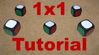 1x1 Rubik's Cube Construction Tutorial