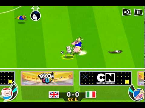 TOON CUP 2013 CARTOON NETWORK GAMES - YouTube
