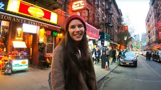 Native Italian Walks New York's Little Italy for the First Time (November 2019 with Mary Jane)