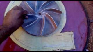Ventoinha Caseira (Parte 1) Homemade Fan (blower)