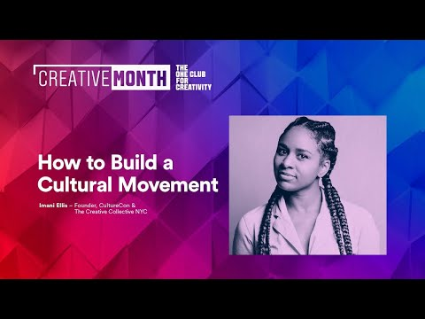 How to Build a Cultural Movement