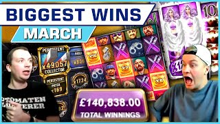 Top 10 Slot Wins of March 2021