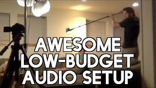 Video How To Get Better Audio For Cheap - DIY Filmmaking Audio Tip download MP3, 3GP, MP4, WEBM, AVI, FLV Juni 2018