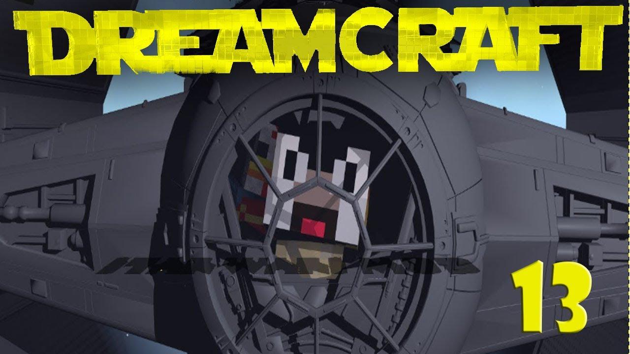 Minecraft Dream Craft Star Wars Modded Survival Ep 13