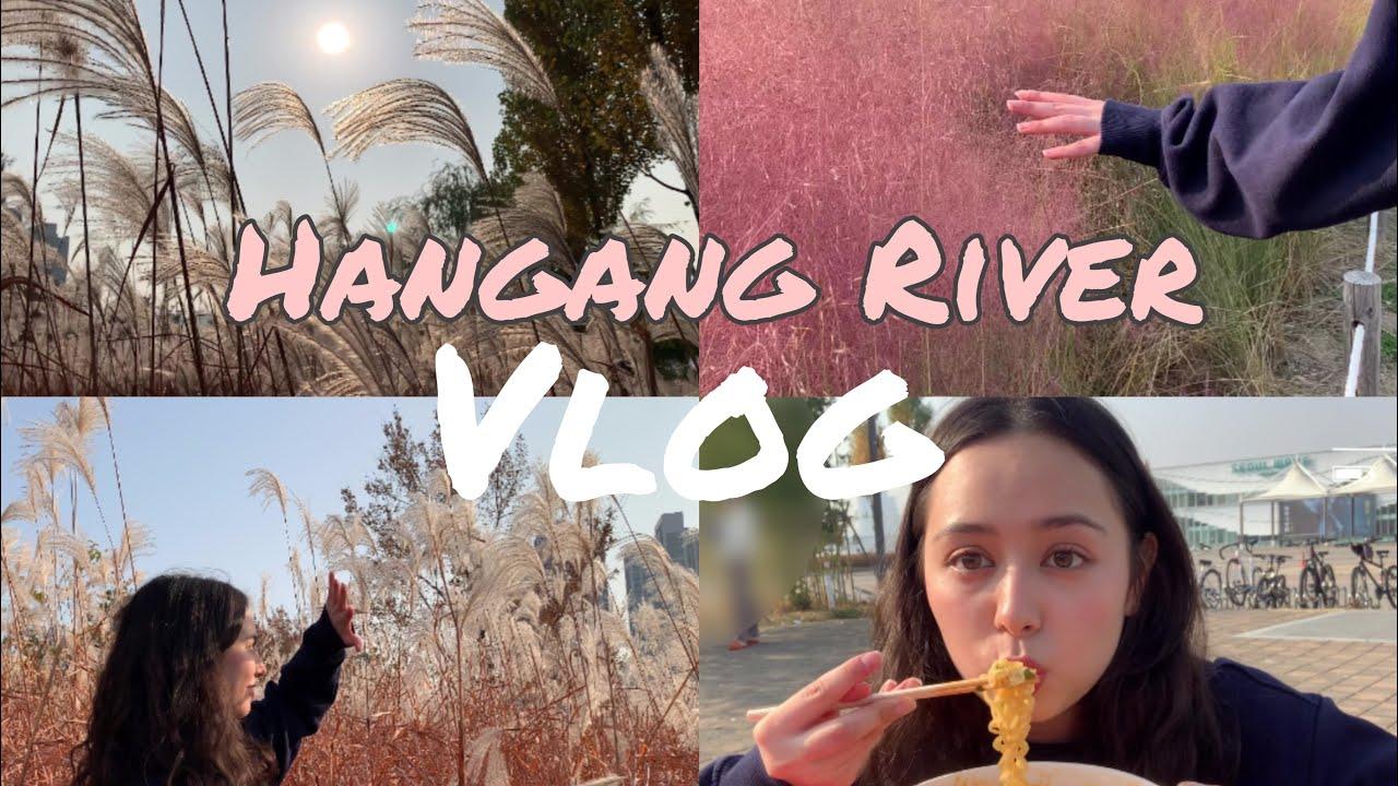 [Hangang River Vlog] 엽수랑 힐링 산책 해염! 🥰🍃