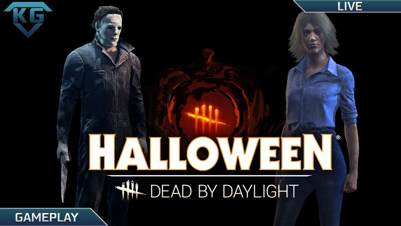 dead by daylight 121 new halloween dlc 500k bloodpoints michael myers laurie strode youtube - Halloween Video Game Michael Myers