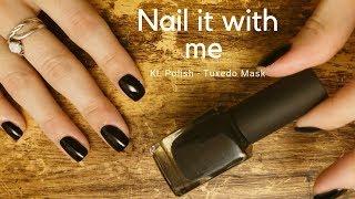 Nail it with me #16 | KL Polish - Tuxedo Mask