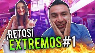 RETOS EXTREMOS EN CENTRO COMERCIAL!! QUITEÑO VS QUITEÑA