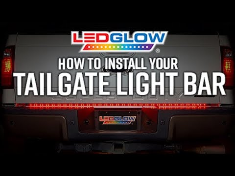 [NRIO_4796]   LEDGlow's LED Tailgate Light Bar Installation - YouTube | Led Light Bar Wiring Diagram For Truck |  | YouTube