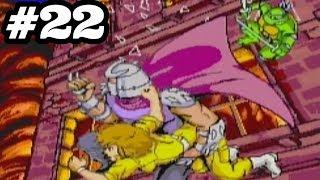 TMNT 2: Battle Nexus | 100% Walkthrough | 1989 Arcade Game! (Part 22)
