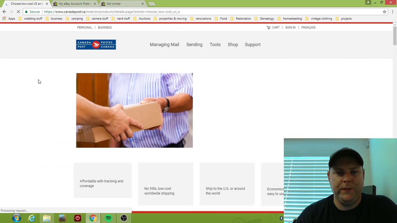 Ebay Canada How I Do International Shipping Easiest Safest Way To Start Selling Internationally Youtube