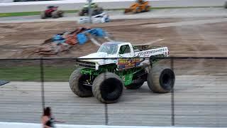 Monster Truck Throwdown 2018 Wheelie Racing & Doughnuts @ Birch Run Show 1