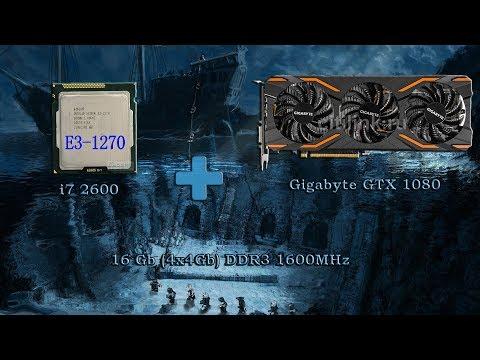 Xeon E3 1270+Gtx1080 в играх часть2